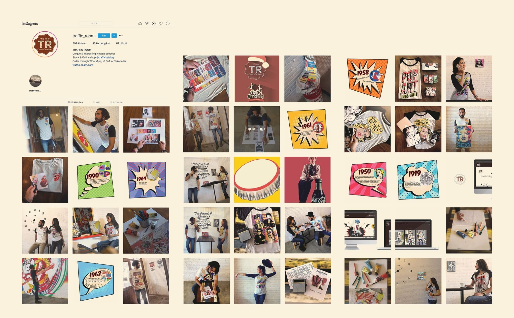 branding traffict room by sws digital agency
