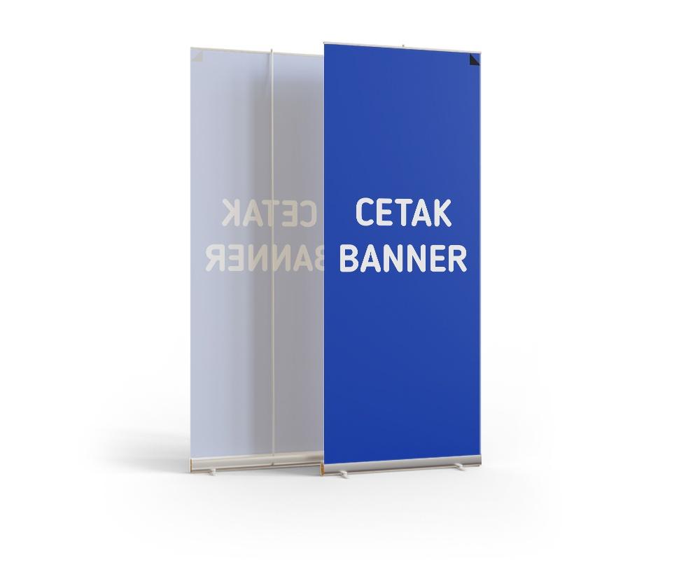 Cetak Banner menggunakan offset printing