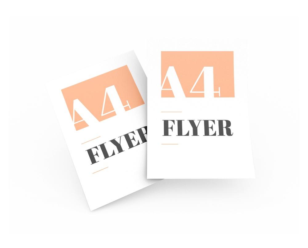 Cetak-Flyer menggunakan offset printing