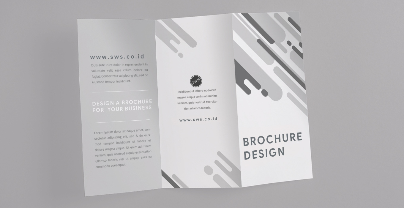 how to design a catchy brochure