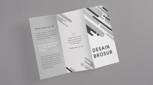 cara membuat desain brosur