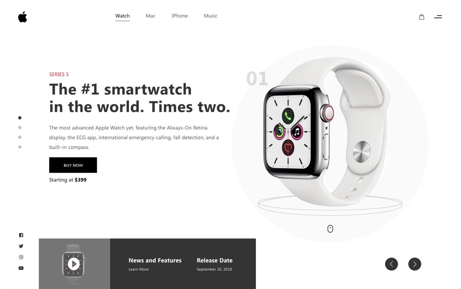 contoh-landing-page-apple